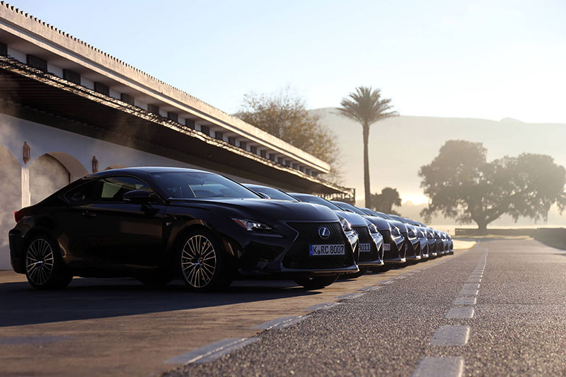 Lexus: RC F Customer Launch