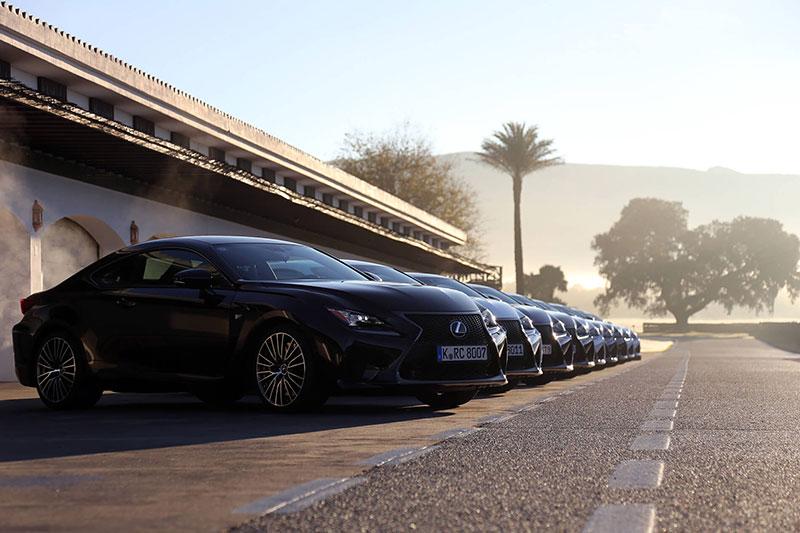 Lexus: RC F Customer Launch