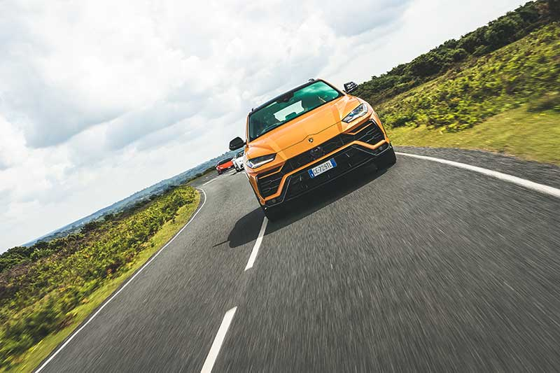 Lamborghini: UK test drive programme